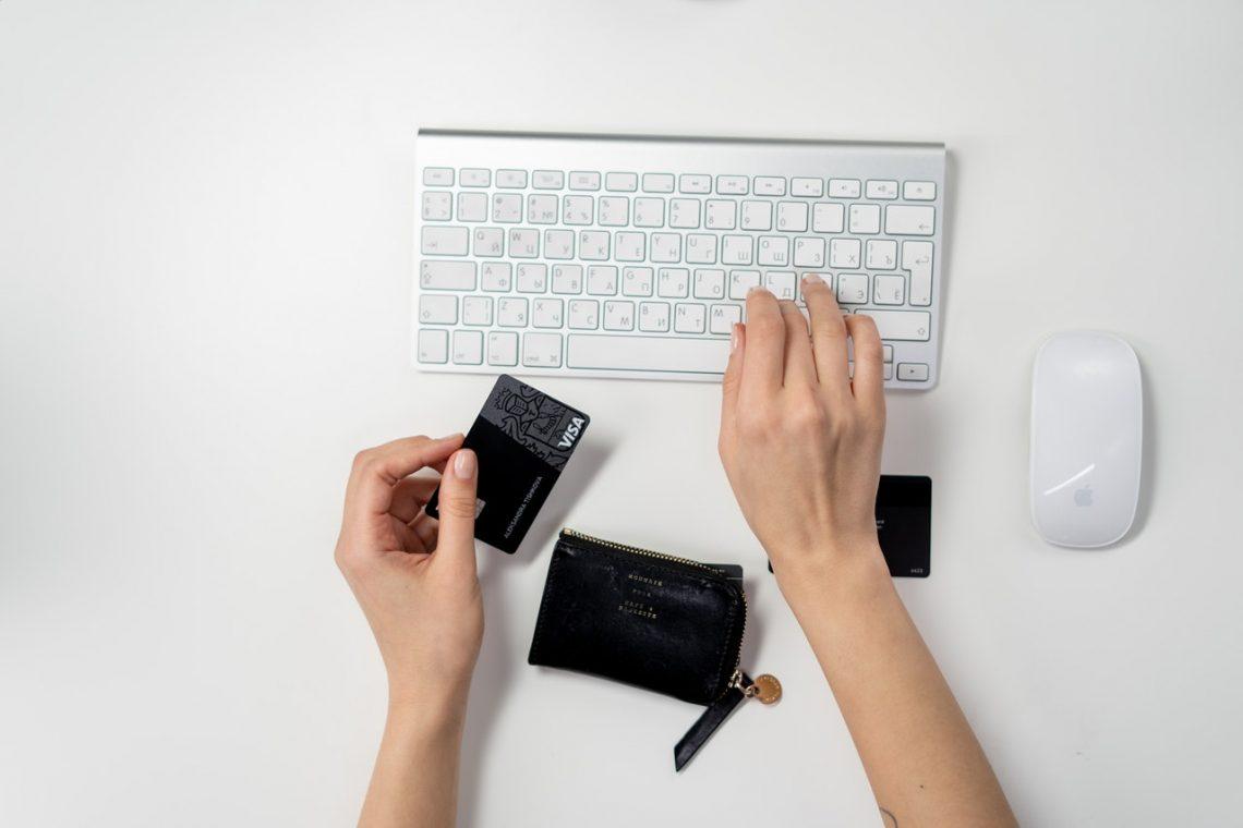 Achat en ligne avec carte de crédit remises